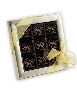 Firma Logolu Çikolata 9'lu kutuda