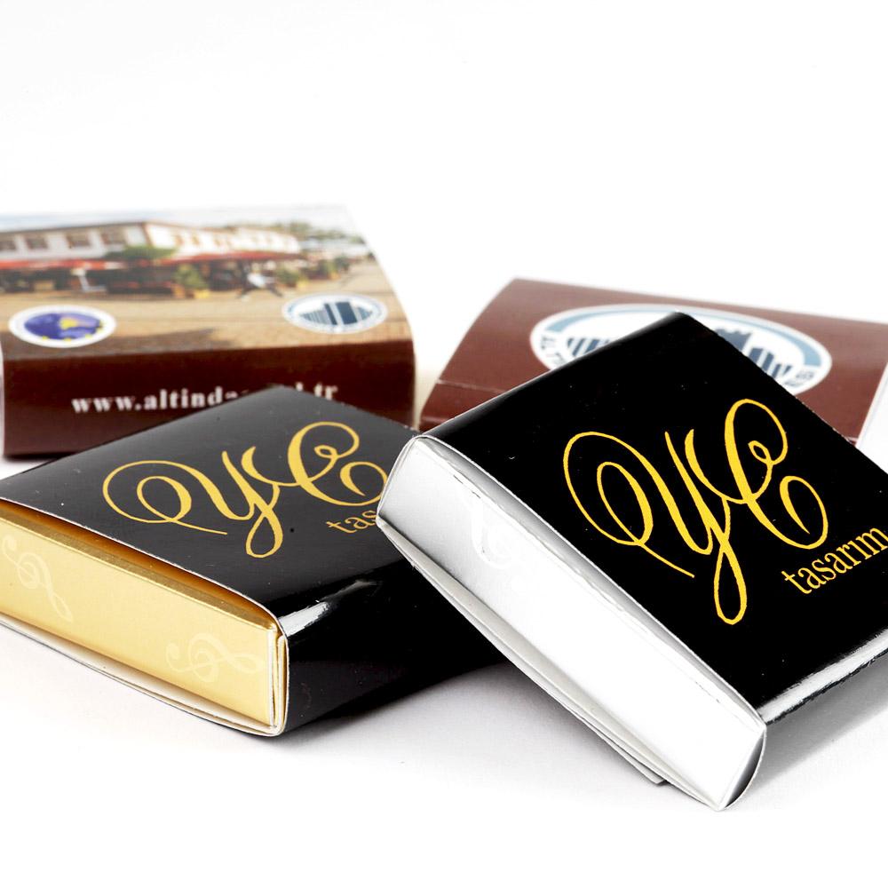 Logolu Çikolata Fıstıklı-100 Adet