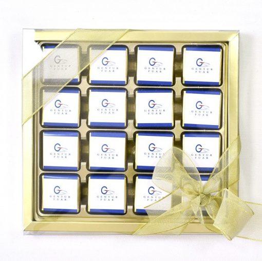 Logolu Çikolata 32'li kutuda