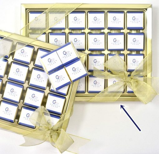 Logolu Çikolata 48'li kutuda