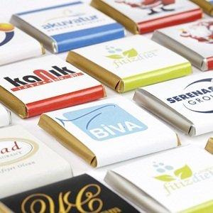 Logolu Çikolata 1000 adet