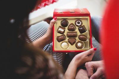 Yeni yil konsept çikolatalar